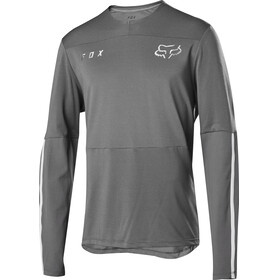 Fox Defend Delta Bike Jersey Longsleeve Men grey